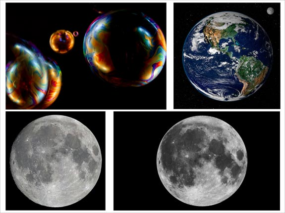 moons and bubbles