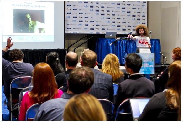 jared polin at blogWorld 2011