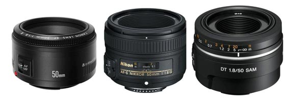 50mm 1.8 lenses