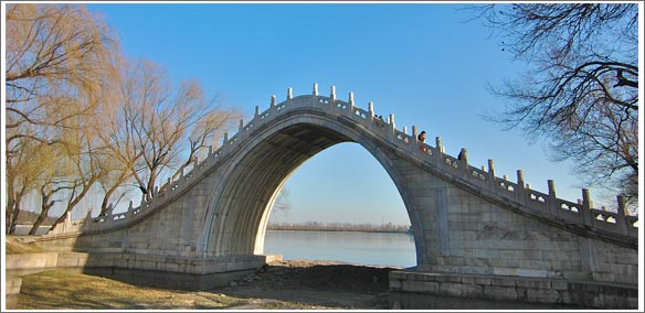 bridge summer palace china