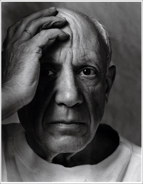 Albert Newman Pablo Picasso,Vallauris, France, 1954