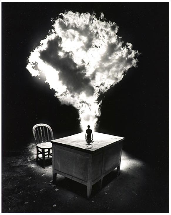 Jerry Uelsmann Smoke Cloud